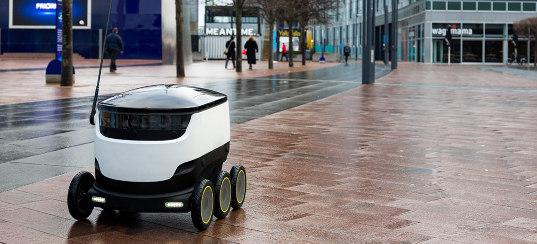 delivery robots take to the streets